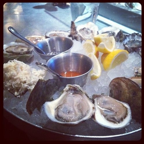 Let's hit some oysters!!!