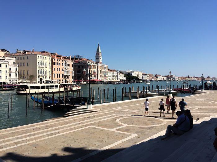 Venice Venezia Venice, Italy Venice Italy First Eyeem Photo Day City Clear Sky Water Colour Your Horizn