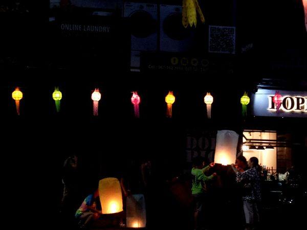 ยี่เป็งเชียงใหม่ #chiangmai #loykrathong Illuminated First Eyeem Photo