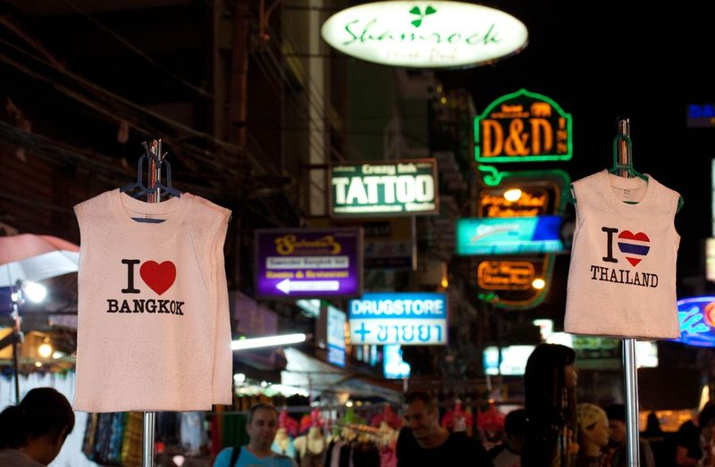 The Tourist Kohsanroad Thailand Bangkok City Life ILove City Lights Night Lights
