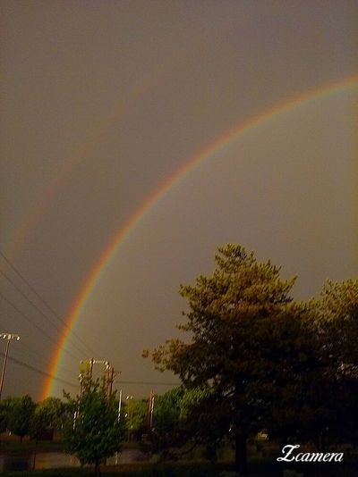 Double rainbow, nature's beauty Nature's Diversities Color Of Life