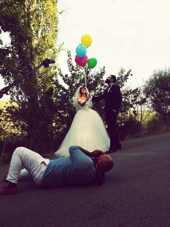 Backstage Eymirgolu Lake Eymir Wedding Photography Ilkadım FirstStep Dışçekim Outdoorphotography Gelindamat Balloons🎈