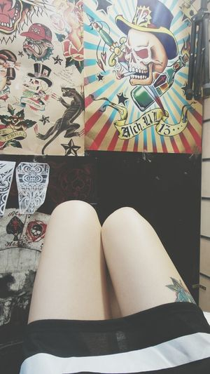 Tattoo Studio I Love Tatto Skull Rock