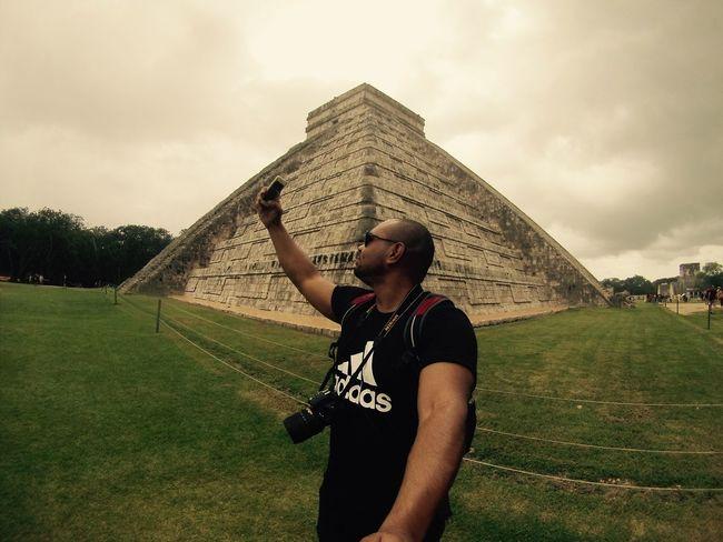 Cool Chichenitza EyeEm Best Shots Selfie ✌ Architecture ThatsMe