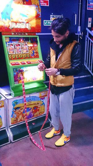 Hello World Arcade Games Playing Games Having Fun Boylondon