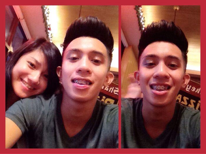 Dinner date yesterday at Shakey's :) we celebrated our 3rd anniversary. Boyfriend December 3 Love Dinner Date