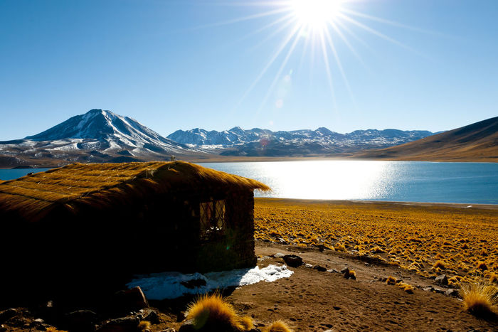 Miscanti Lagoon Atacama Desert Chile Lagoon Lake Miscanti