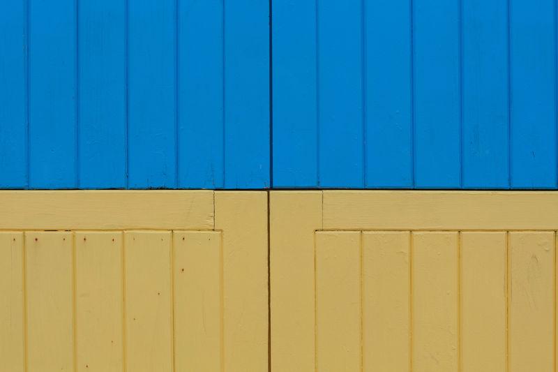 Full frame shot of wooden boxes