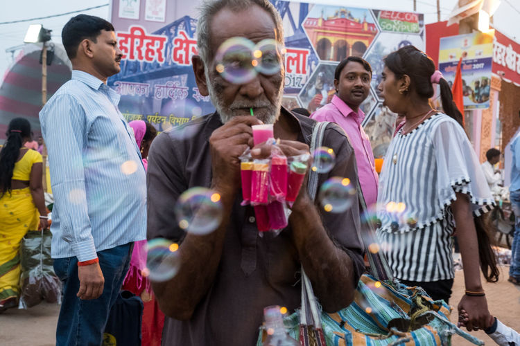Bubbles India The Street Photographer - 2018 EyeEm Awards Festival Sonepur Sonepurmela