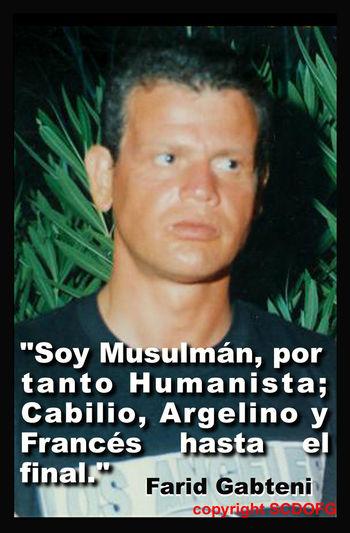 Algerian Argelino Cabilio El Sol Sale Por El Oeste Farid Gabteni Frances Humanista Kabyle Mensaje Original Del Islâm Musulman Qoran