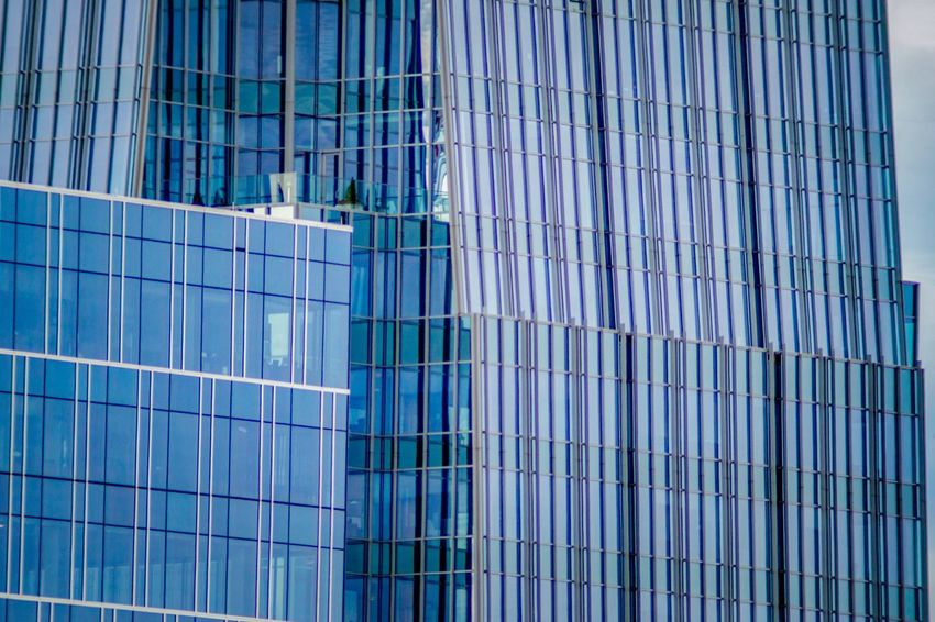 Blue all over Reflection On Building City Photography Architectural Design Architecture Pattern Modern Architecture Detail Blue Building Blue Windows Blue Background EyeEm Selects Built Structure Building Exterior Architecture Building Blue Glass - Material Full Frame Backgrounds Office Building Exterior City Window Outdoors
