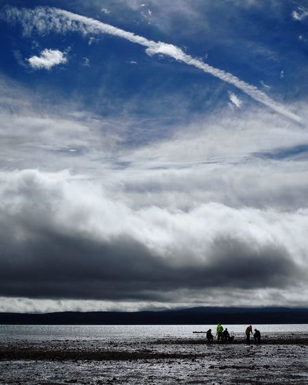 Puget Sound Pacific Northwest  Fishing Clamming Cloud - Sky Sky Water Beauty In Nature Scenics - Nature Tranquil Scene Nature Sea Tranquility Beach Outdoors Horizon Over Water