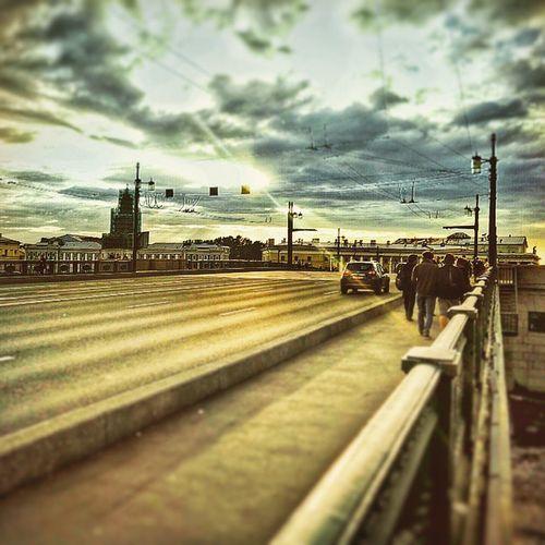 Sanktpeterburg il cielo sopra San Pietroburgo.. Strelka Dvorzoymost