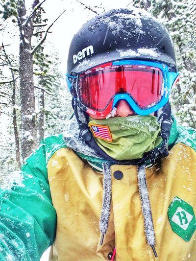 Montana snowboarding. Landsape Powder Life Trees