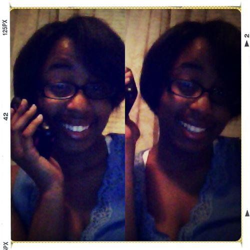 On the phone with my ex Matthew . eeeh lol ☎☏