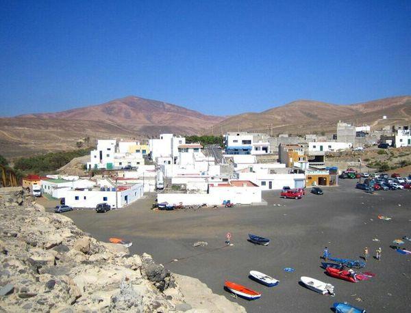 Ajuy (Fuerteventura, Spain) Fuerteventura Beach Town Landscape