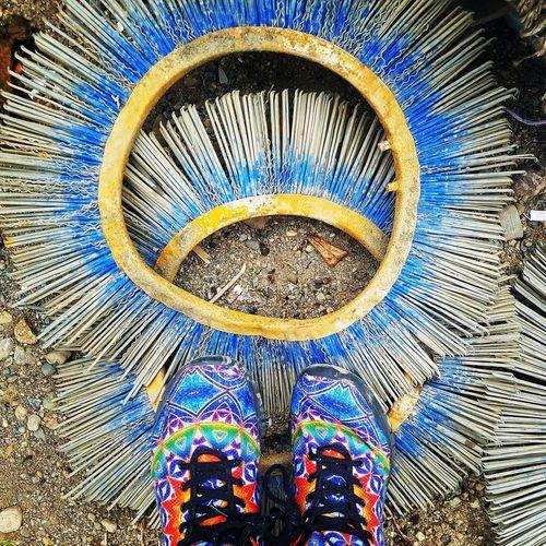 Things I saw at the dump today At The Landfill Shoe Circular