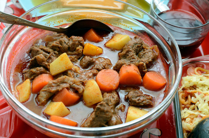 Bakareta - an Filipino beef stew with tomatos and carrots. Beef Bowl Cassarole Close-up Food Food And Drink Healthy Eating Meal Meal Meat No People Ready-to-eat Stew Still Life Taste Yummy Yummy♡
