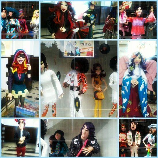 Anos50 , Metro Anhangabau Bonecos da virada cultural bonecos do signos mto lindos
