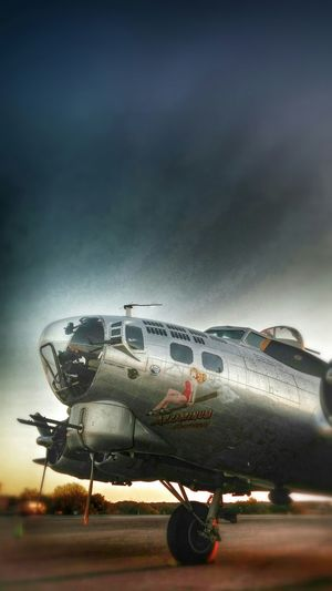 Aluminum overcast B17 Capturing History History Through The Lens  Airplane Eye Em Best Edits Eye Em Best Shots