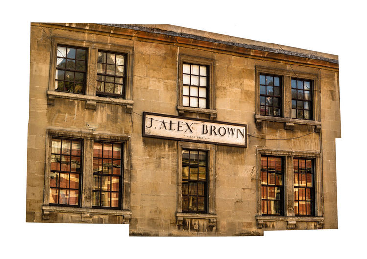 J. Alex Brown, Est 1856 Architecture Window Text Building Exterior Western Script No People Book Built Structure Library Education Communication Sign Publication Day Travel Destinations Outdoors Learning City