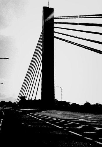 Street And Bridge