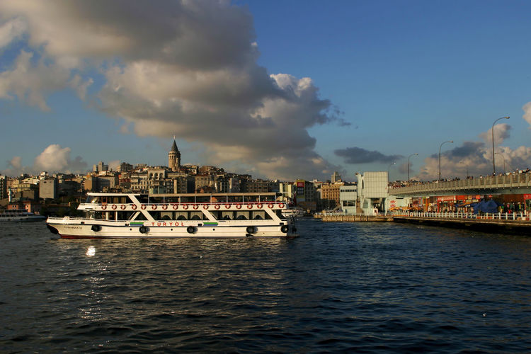 Ferry at Galata