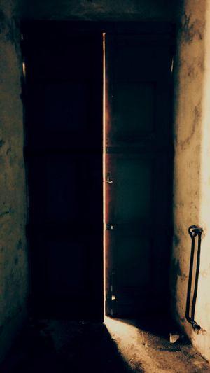 Trekking #photography #Dark #darkness #lights Doorway House Abandoned No People