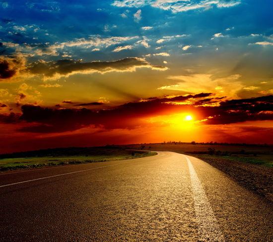 Sunset Nature Sun Love