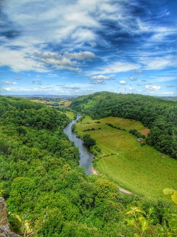 Hello World Symonds Yat View From Above Views Wye Valley River Wye Landscape EyeEm Best Edits EyeEm Best Shots - Landscape Countryside Great Britain Days Out Blue Sky Trees