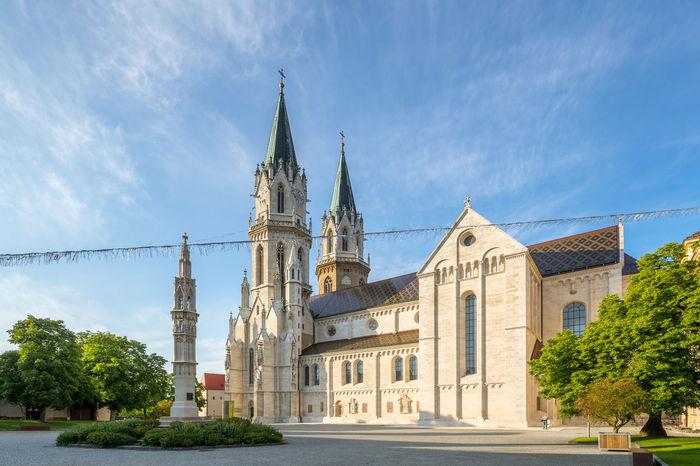 Klosterneuburg Abbey Austria Church Kloster Klosterneuburg Monastery Tulln Architecture Building Building Exterior Built Structure Neuburg No People Nobody Religion Tourism