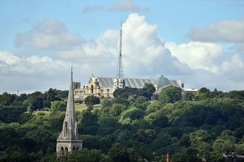 Alexandra Palace Ally Pally Historic Entertainment Venue BBC Broadcasting Tower Entertainment Venue Ice Rink Ice Skating Ice Hockey Hosts Music Music Venue Alexandra Park Golf ⛳ Boating Lake Fun Fair Antique Fairs St.michaels Church Charity Events North London Landscape Great Outdoors Nikon Photographer EyeEm LOST IN London