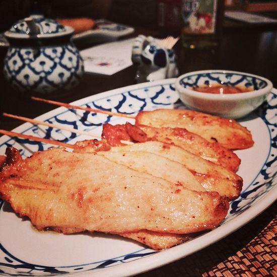 Satay... #yummie Foodkoma Changthai Sosse Food Soße Chicken Essen Thai Foodporn Peanut Satay Yummie Huhn Sauce Tuttlingen