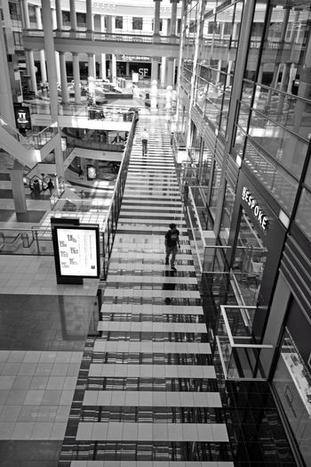 The Westfield San Francisco Centre 8 The Architect - 2016 EyeEm Awards Upscale Urban Shopping Mall 1991 Bnw_friday_eyeemchallenge Black & White Black And White Black And White Collection  Pattern Pieces Geometric Patterns Tiles Art Escalators Fabulous Floors Black And White Photography Columns Architecture Architecture_collection Architecture Photography Mall Interior Monochrome Windows Glass 500,000 Square Ft. 180 + Stores Owned By The Westfield Group Forest City Enterprises