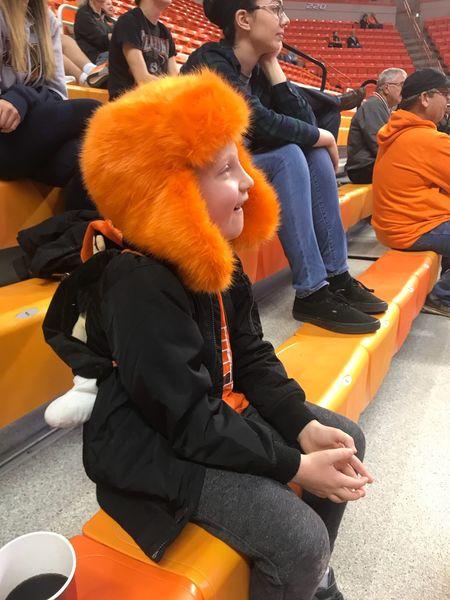 Orange Power Basketball Oklahoma State University  EyeEm Selects Orange Color Sitting Leisure Activity