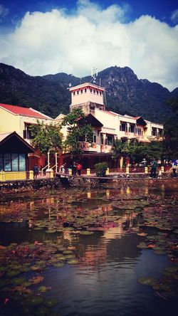 Oriental Village, Langkawi.... Langkawi Oriental Village Mountain Lake Sky Cable Car Fine Art Photography Colour Of Life