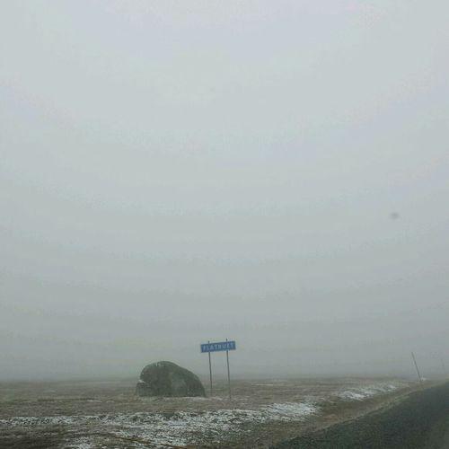 Flatruet Foggy Snow Grey