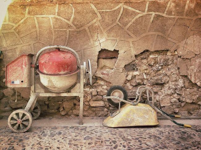 Pueblo Working Obras Old Village
