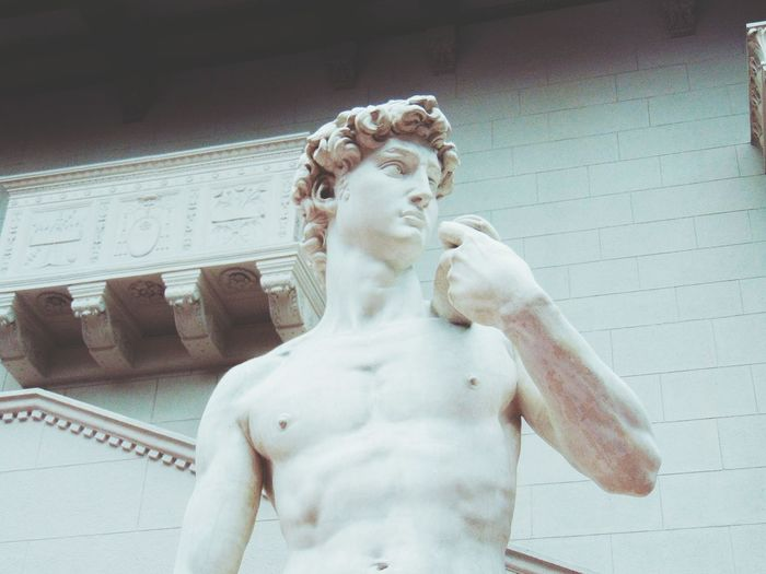One Person Adults Only Shirtless One Woman Only Only Women Beautiful Woman Real People Indoors  Young Adult Swimming Pool People Day Water Adult Statue Museum Moscow Silence Beautiful Nice Day Milk Gentel Renaissance Architecture Renaissance Beauty David