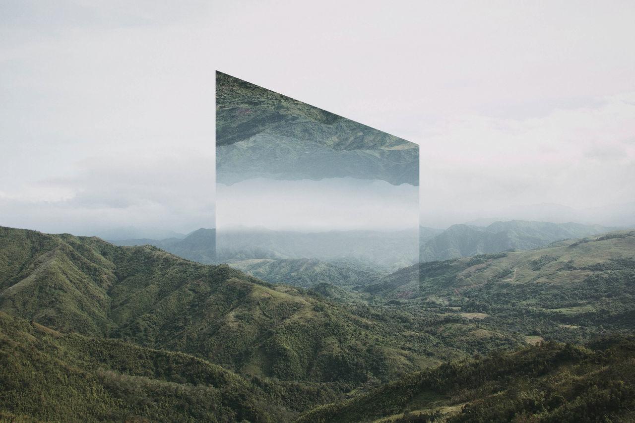 Fantasy landscape in philippines