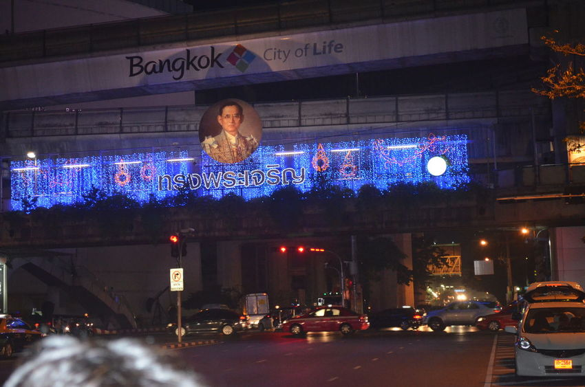Bangkok City Life Building Exterior City City Life Land Vehicle Lifestyles Road Transportation Spotted In Thailand