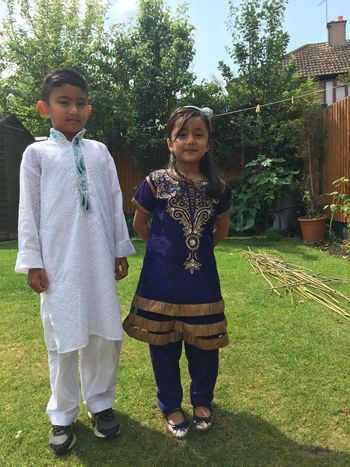 Eid Mubarak Blessed Festival Adam Miah Amelia Miah