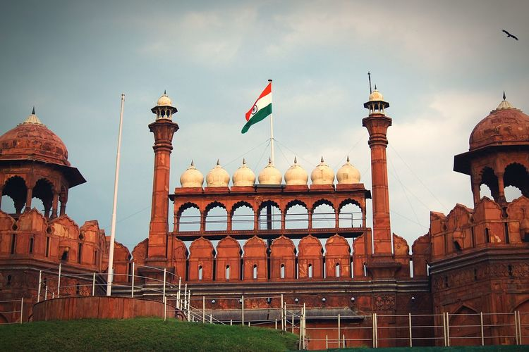 Redfortnewdelhi Incredible India New Delhi