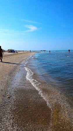 Noi Di Rimini Ci Scordiamo Avolte Che Il Mare E Sempre Li E Che Possiamo Bagnarci UN Piede Dentro E Collegarci Con IlMONDO