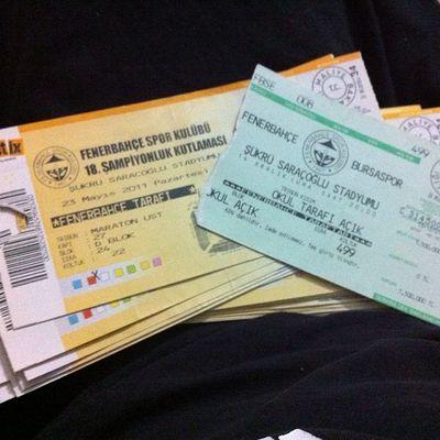 Fenerbahce  mac biletlerim basket futbol hepsi ne hatiralar var be Istanbul Basketbol Futbol biletix
