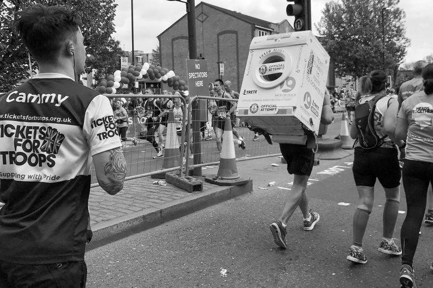 London Marathon 2017 London Marathon 2017 Runners London London Marathon Black And White