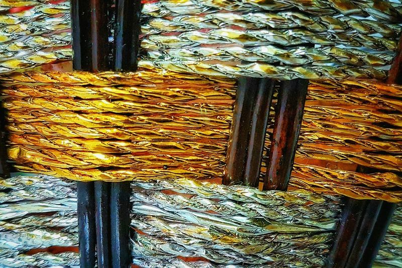 Basketweave Pattern Wood - Material Close-up Intricatedesign