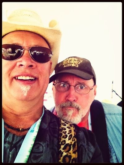 Playing at the Hudson Music festival with Ed Deigan and the Mason Dixon Line Band.