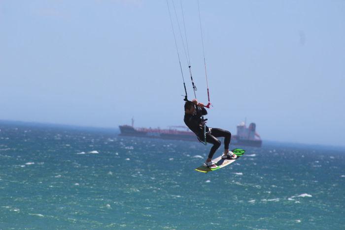 Blouberg Bloubergbeach Cape Town Cape Town Beaches Kiteboard Kiteboarder Kiteboarding Sea