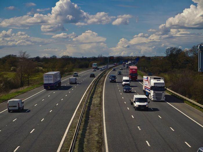 Average Motorway M4 Swindon Traffic Commute